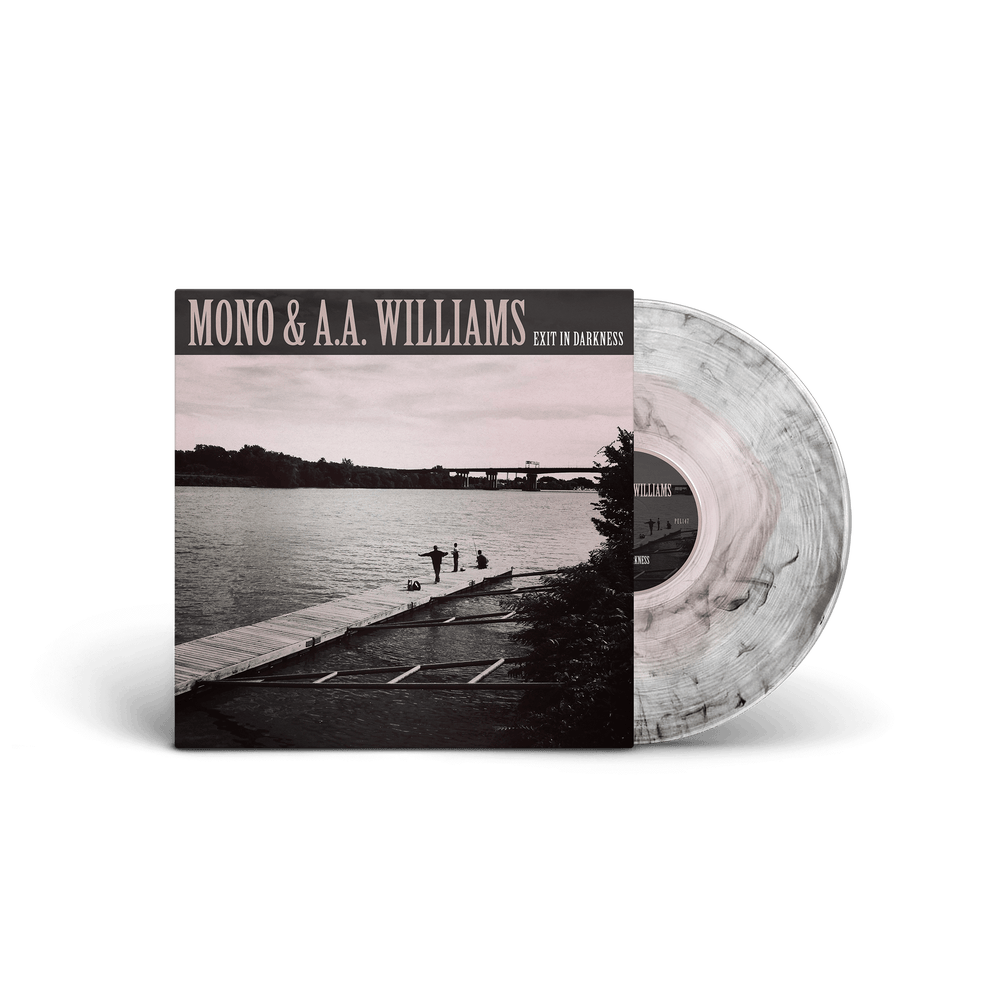 "MONO & A. A. WILLIAMS - Exit in Darkness / VINYL 10"" (pink in ultraclear & black smoke, ltd. 200)"