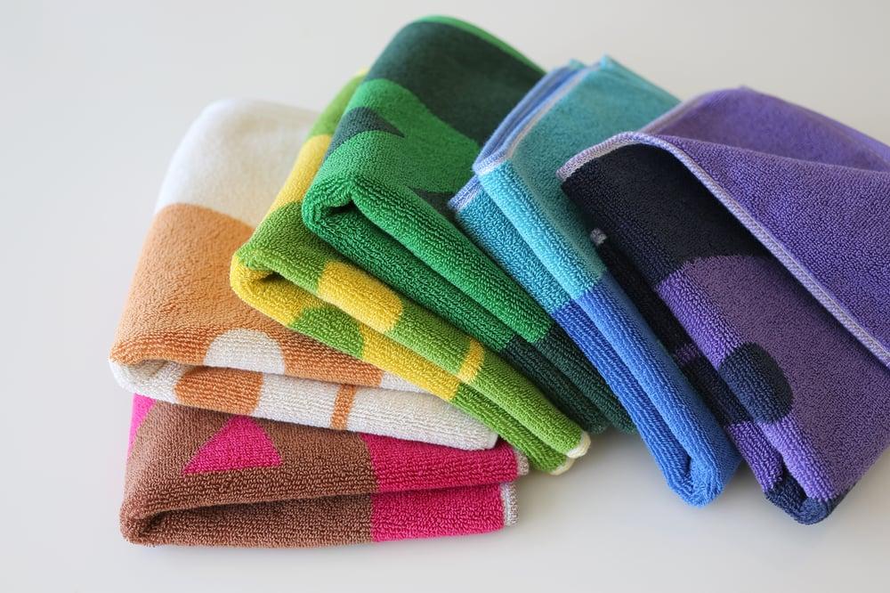 Image of Hand Towel <div>Color: Coral + Scour</div>