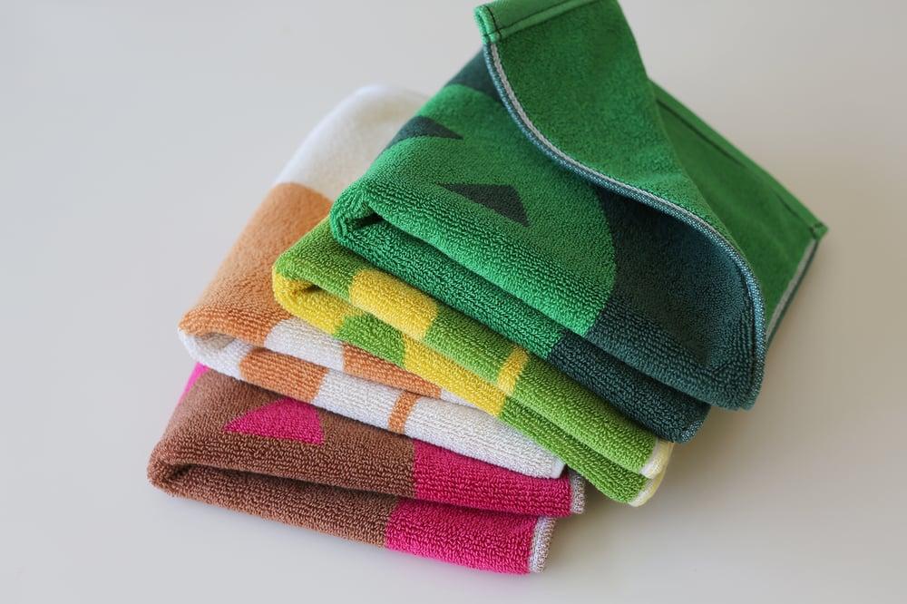 Image of Hand Towels <div>Grass + Forest</div><div>Poppy + Lime</div>
