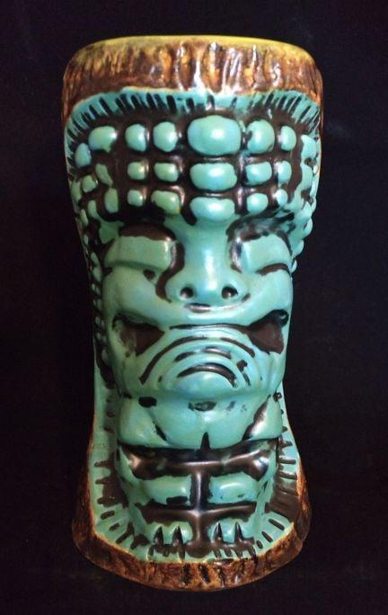 Image of KaimuKU Tiki Mug Blue