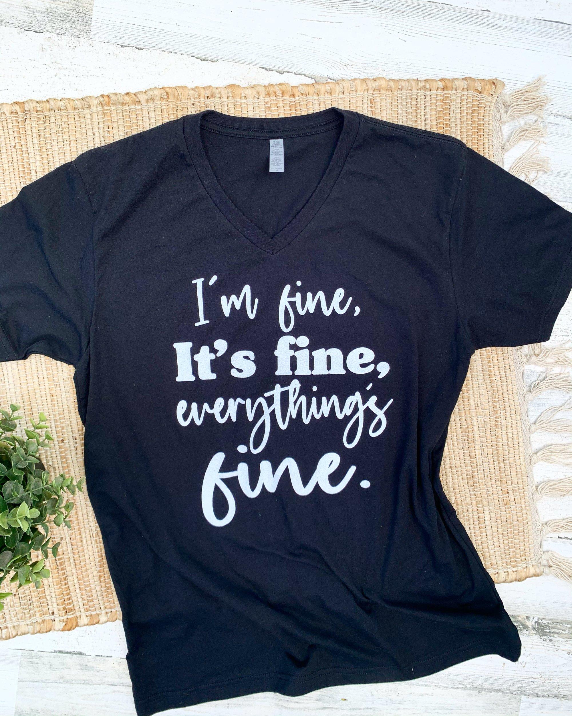 Image of Fine, it's fine!