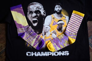Image of GSC Los Angeles Lakers Champion Socks!