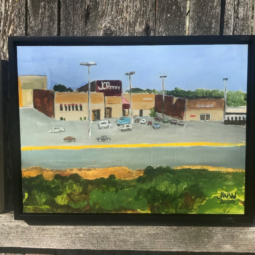 SMALL MALLS - Eau-Claire Mall - Original Painting