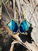 Image of Gradient Blue Butterfly
