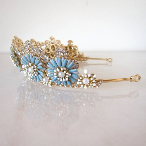Image of Something Blue tiara