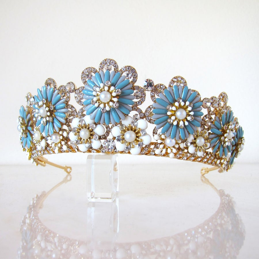 Image of Something Blue tiara