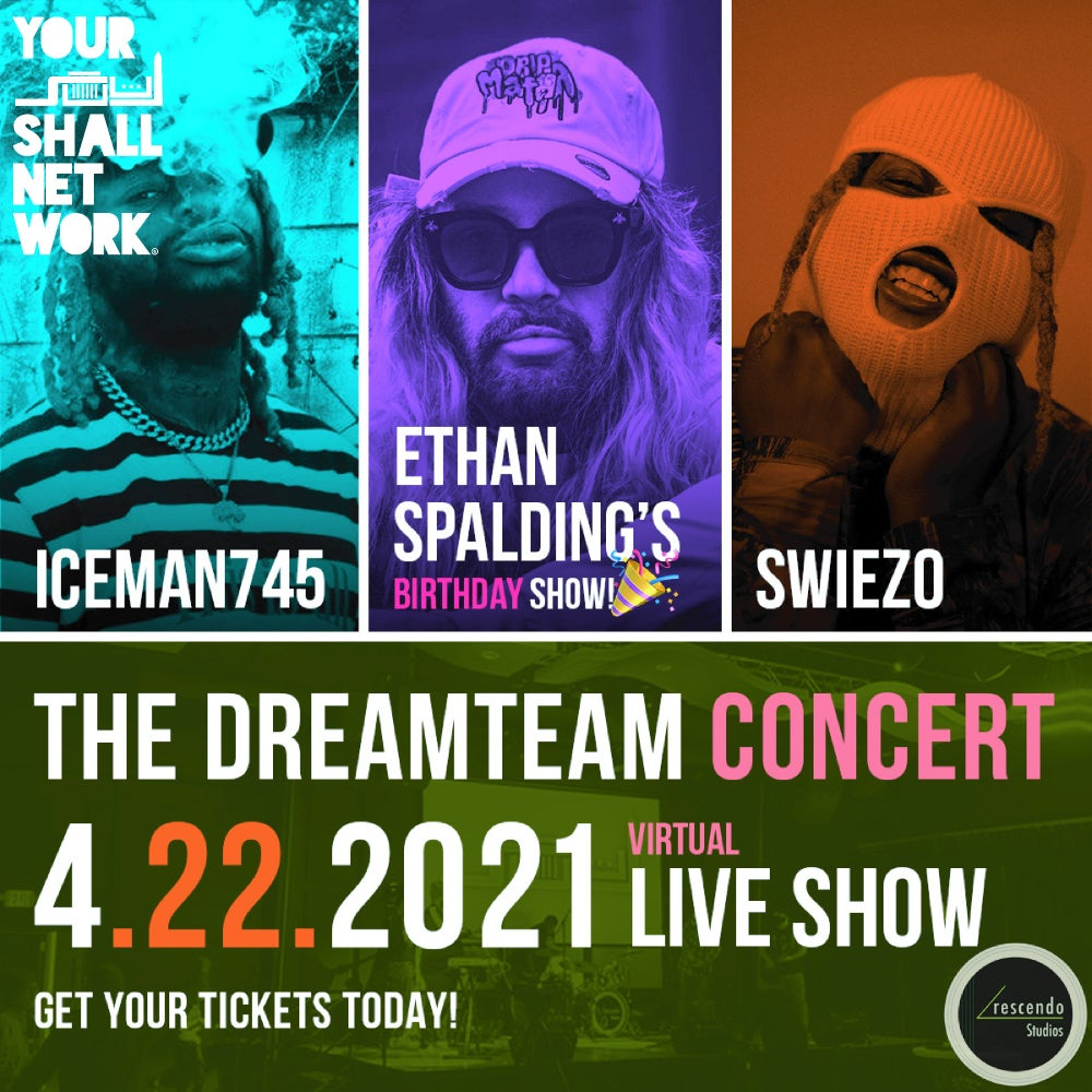 Image of ETHAN, SWIEZO & ICEMAN745 VIRTUAL TICKETS