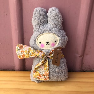 Image of Fluffy Bunny with Scarf