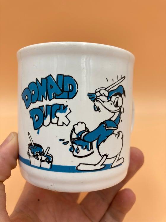 Image of Vintage Donald Duck mug.