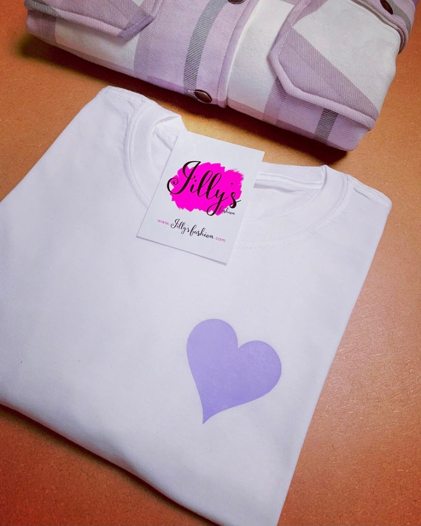 Harriet heart tee PASTEL EDITION - adult