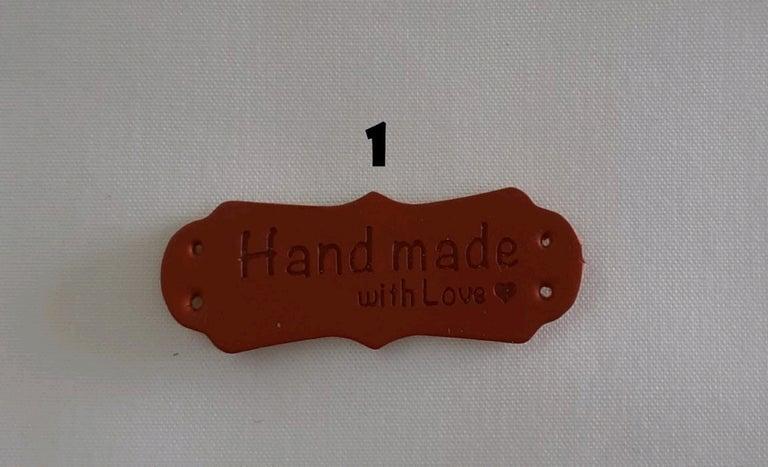 Placas Handmade em metal / madeira