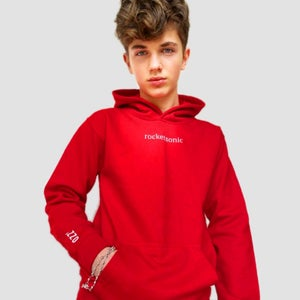 Image of Red Hoodie - Fire Red