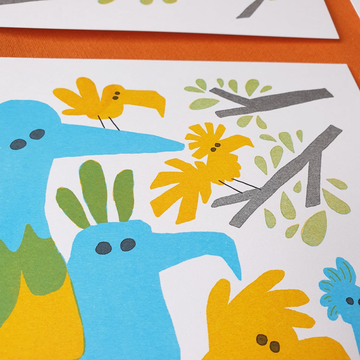 Image of Next In Line, Risograph Print