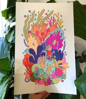 Large Vibrant Vivarium print