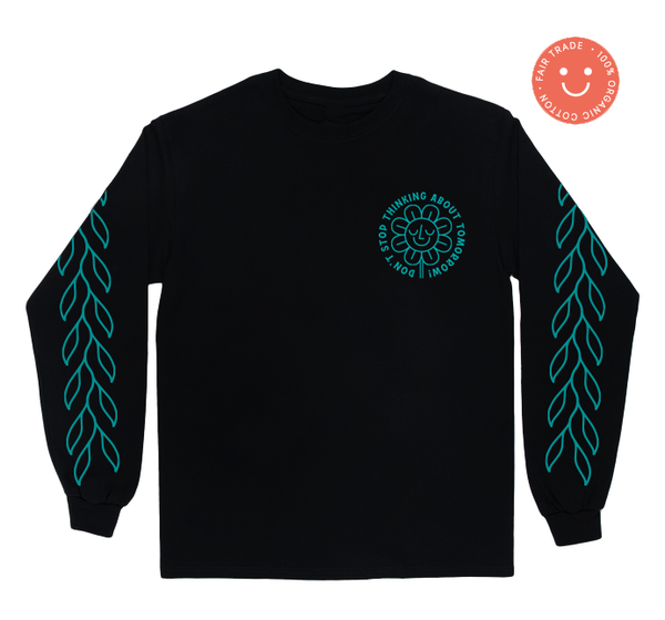 Image of Flower - Unisex Organic Cotton Longsleeve