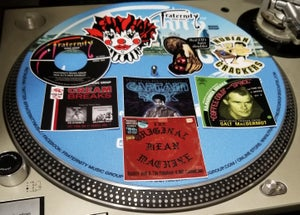 Image of Fraternity 12 Inch Slipmats Pair with 9 Stickers