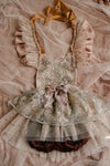 Autumn Couture Romper OOAK//2-4year