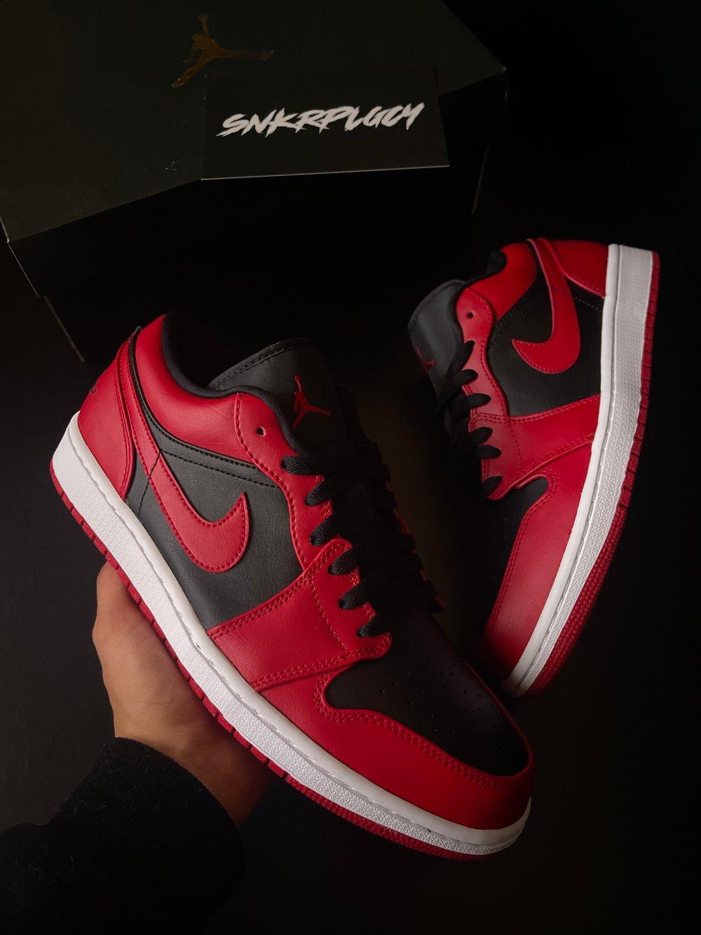 Air Jordan 1 Low / Bred