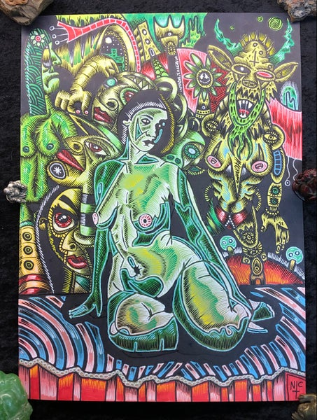 Image of Green Girls, Goblins, and Ghouls - OG x Nic Price