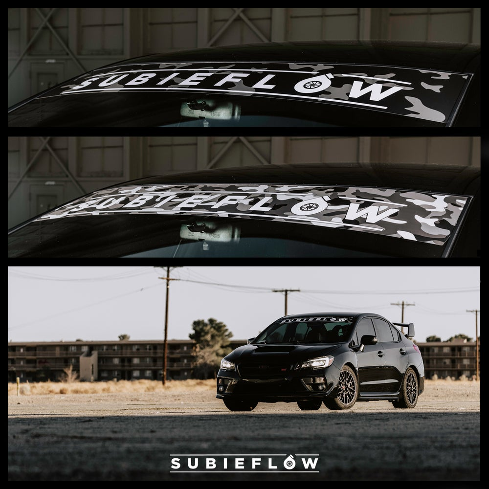 Image of SubieFlow Camo Banners
