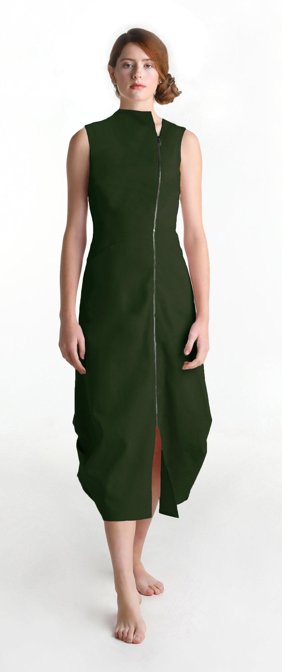 Image of Leanna maxi olive