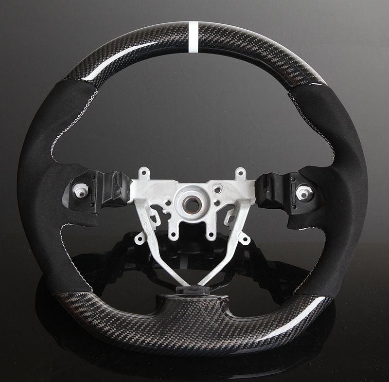 Image of 2008-14 WRX/STI Carbon Fiber Steering Wheel