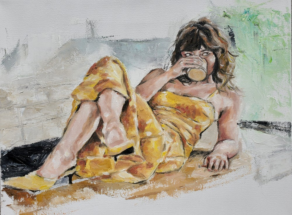 Image of The Girl in the Yellow Dress
