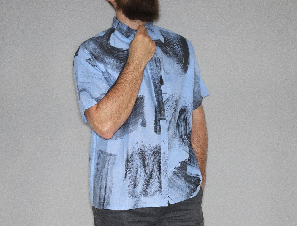 Image of MONOTYPE STROKES SHIRT