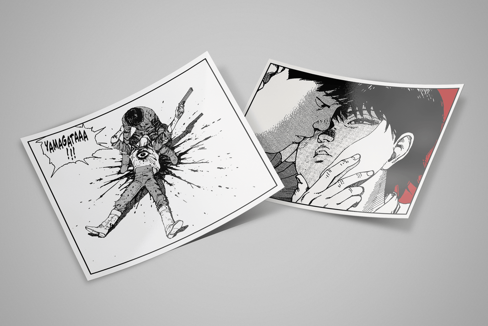 Akira Anime Supreme Sticker Pack, Limited Edition (8 pcs inside)