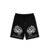 FOREVER(young)CHASING(the sun) SHORTS BLK