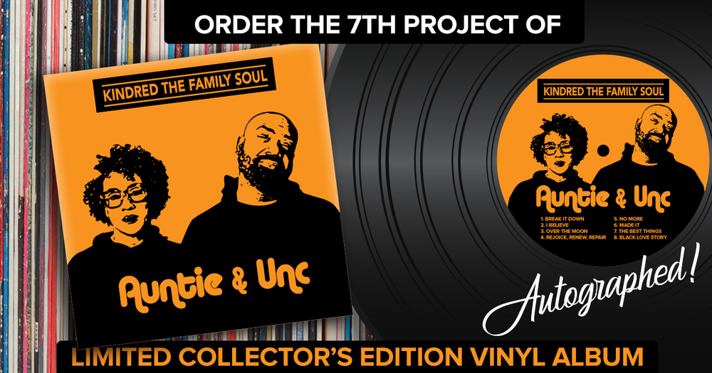 Image of AUNTIE & UNC Vinyl Collector's Edition Album
