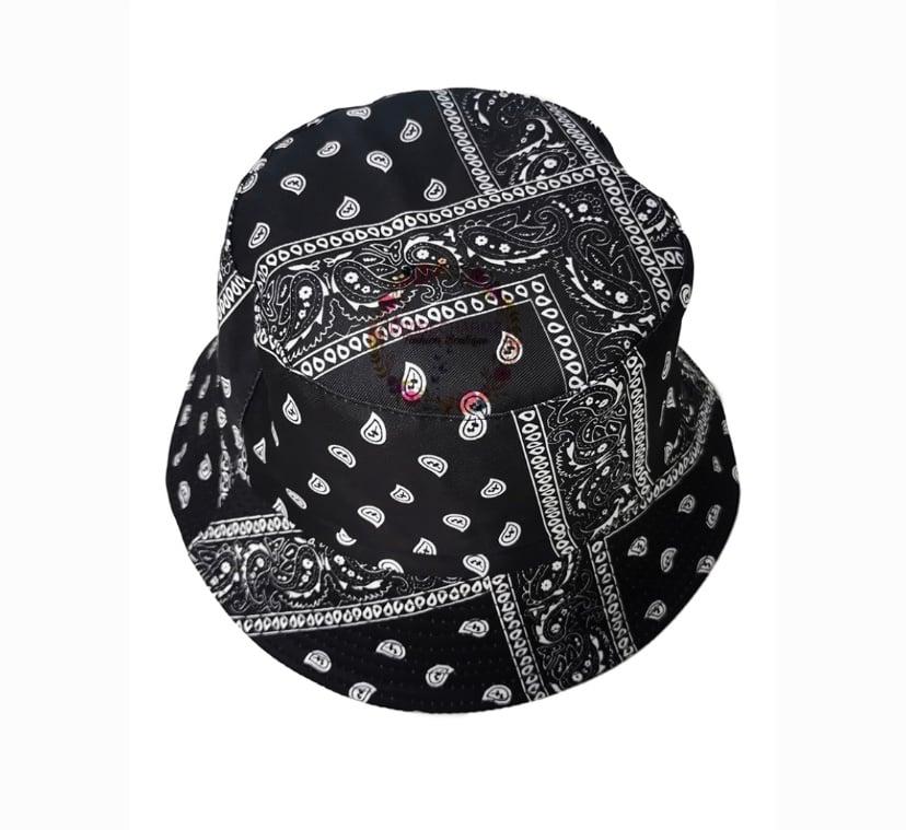 """Image of """" Bandana Bucket Hat """""""