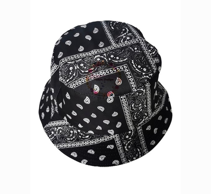 "Image of "" Bandana Bucket Hat """