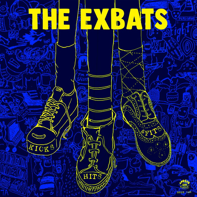 Image of THE EXBATS :: Kicks, Hits and Fits LP