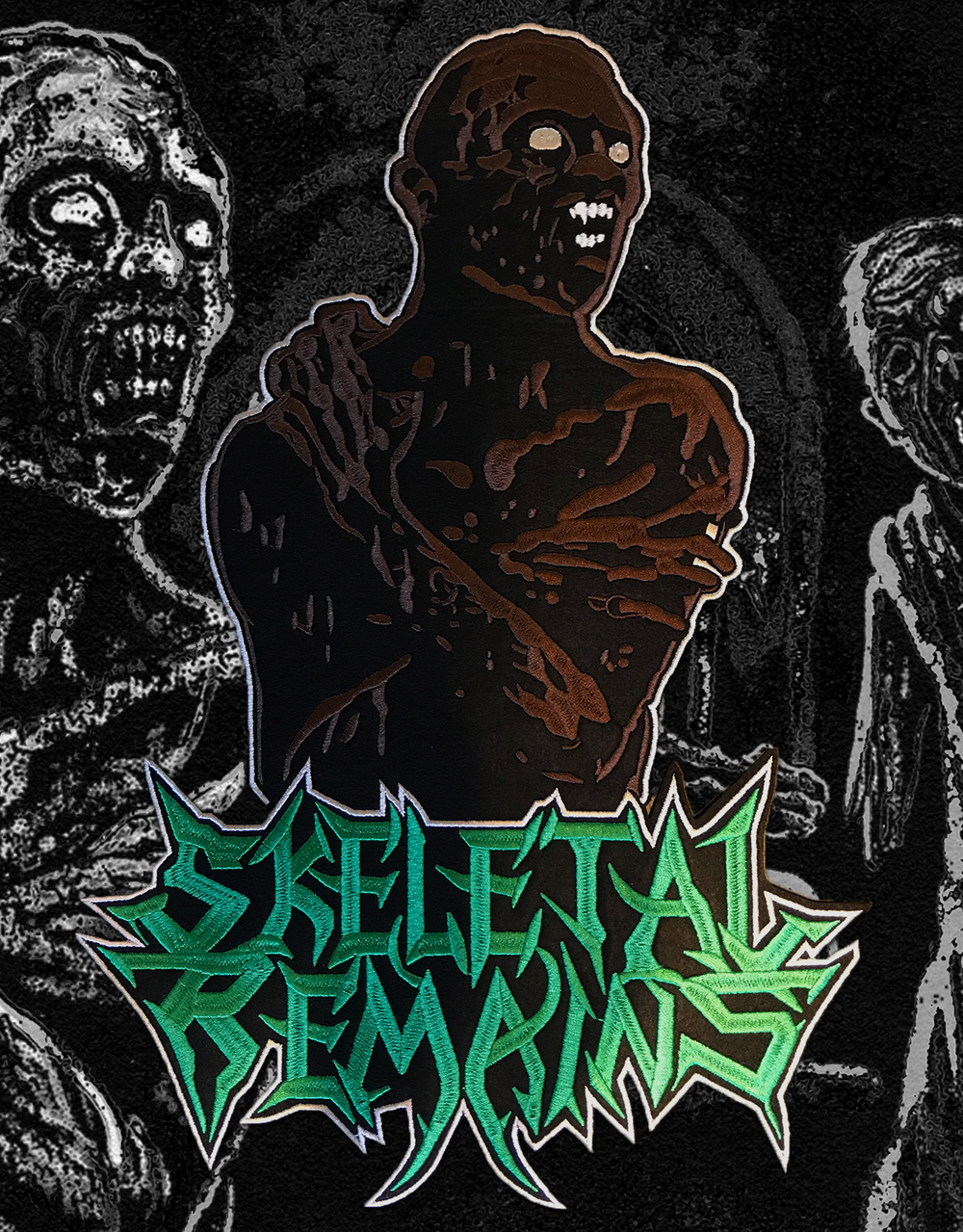 Beyond The Flesh Embroidered Backpatch