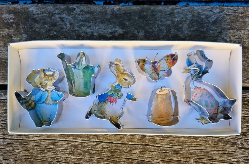 Image of Peter Rabbit Cookie Cutters