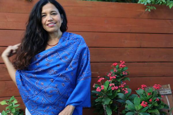 Image of Indigo Azul Pashmina