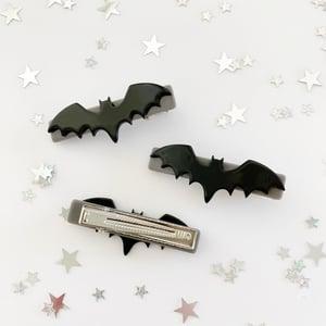 Image of Acrylic Bat Hair Clips