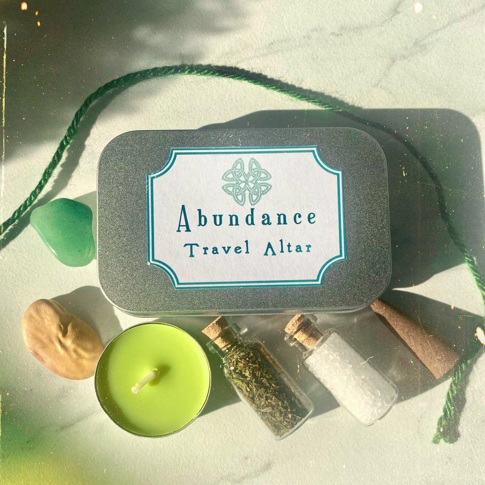 Image of Abundance Travel Altar