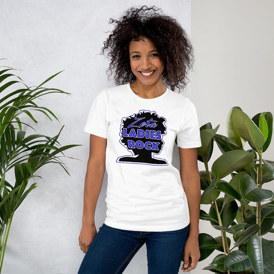 Image of Zeta Ladies Rock T-Shirt