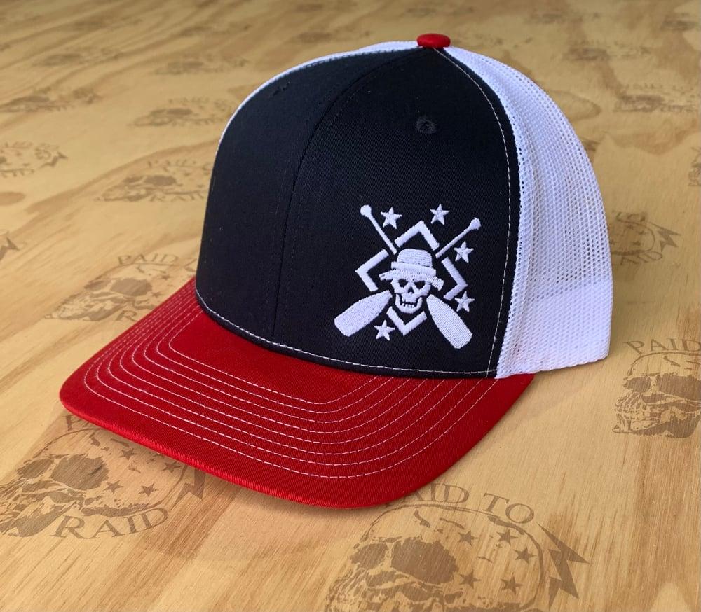 Image of Cross Oar SnapBack Structured Hat