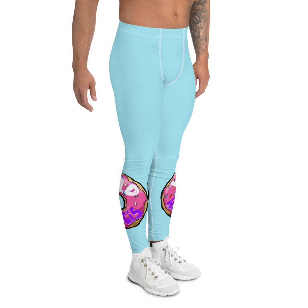 """""""All The Donuts In The World"""" Men's Leggings"""