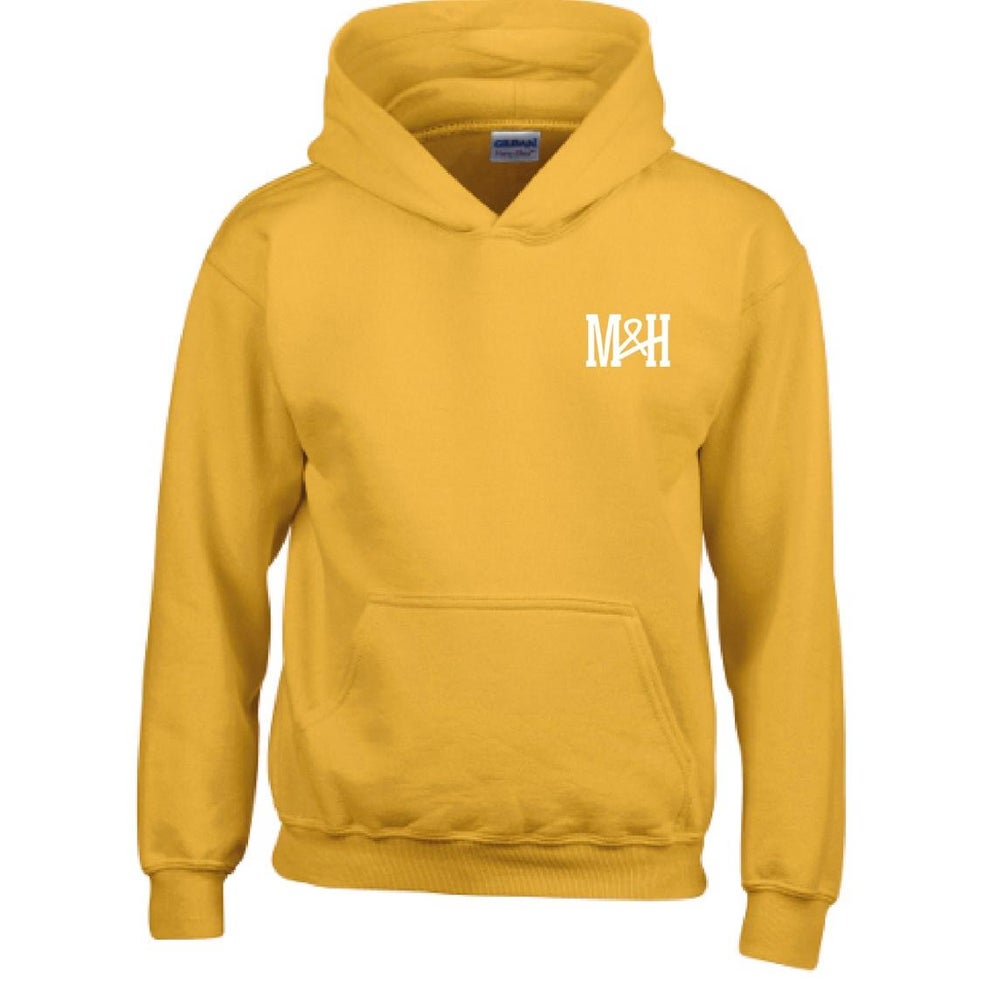 Image of Gold Yellow Hoodie