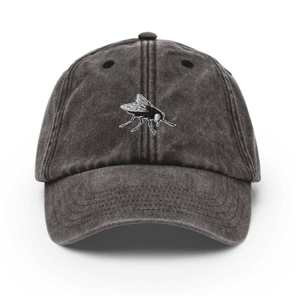 Image of Washed Black Fly Cap