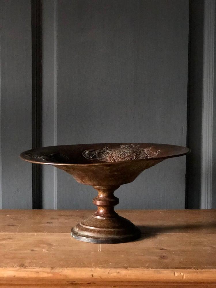 Image of Ornate pedestal bowl