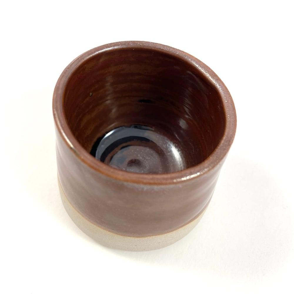 Image of Tiny Chocolate Ceramic Cup