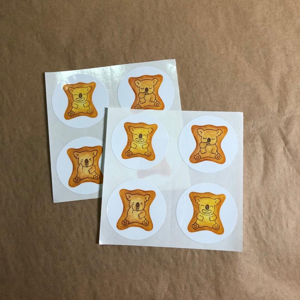 Image of koala yummy stickers (small pack)