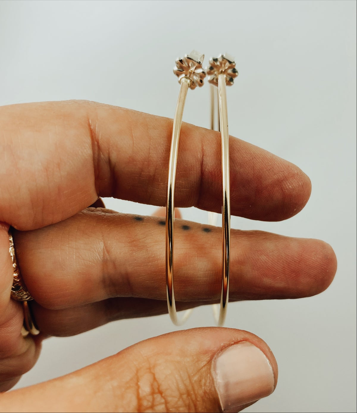 Image of Extra Large 14k Gold Filled Hoops