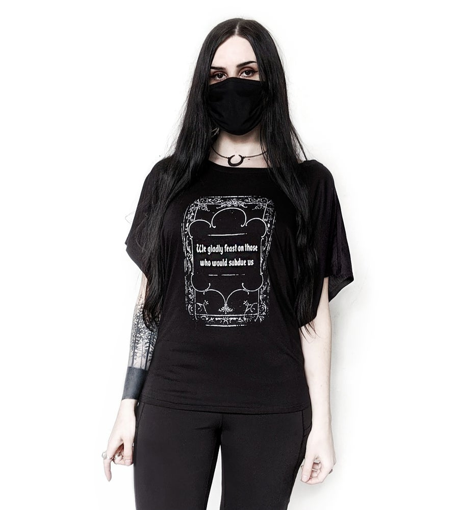 Image of Addams Family Credo Flowy Top