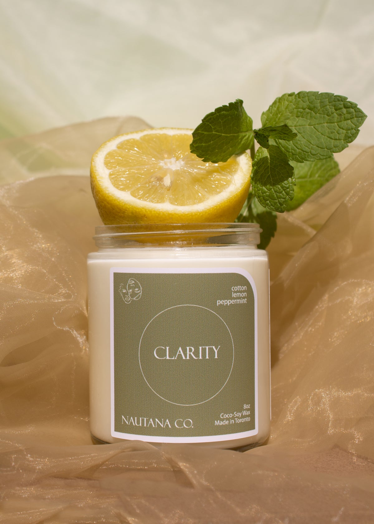 Image of Clarity - Lemon & Peppermint Candle